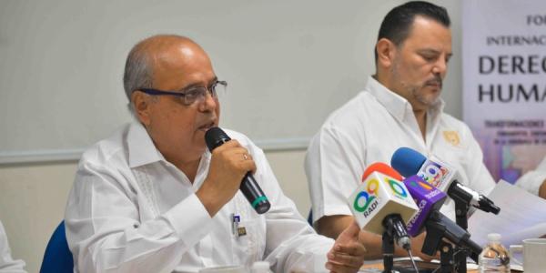 Organiza UNACH el Foro Internacional de Derechos Humanos