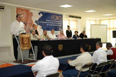 """Inició el  Foro """"Desafíos de la Investigación y el Posgrado: La UNACH en el contexto de la internacionalización"""""""