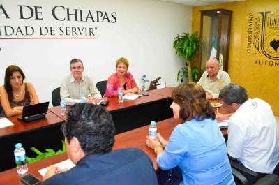 Fortalecen UNACH y OMS/OPS sus lazos de cooperación institucional