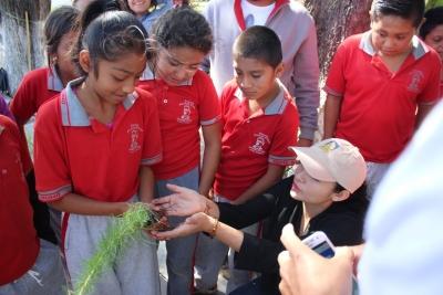 Desarrollan alumnos de la UNACH distintas acciones de beneficio social en Emiliano Zapata