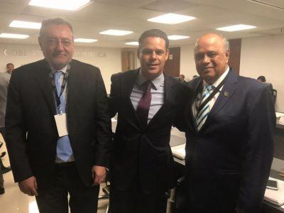 Participa el rector Carlos Eugenio Ruiz Hernández en la Sesión Ordinaria de la Junta Directiva del IMJUVE