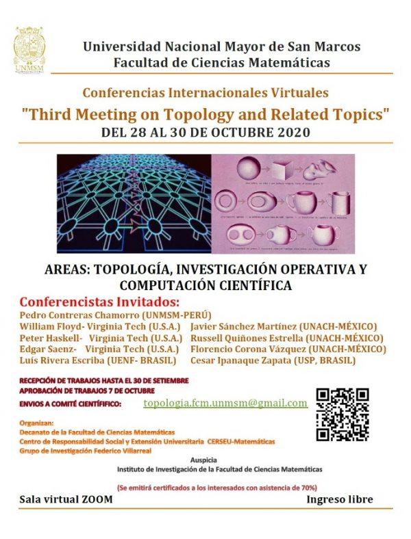 Participará  UNACH  en Conferencias Internacionales Virtuales organizadas por la Universidad Nacional Mayor de San Marcos de Perú