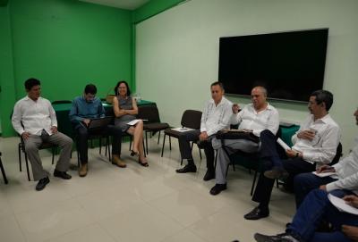 Trabajan Administración Central de la UNACH y directores de los planteles en favor de la  calidad educativa