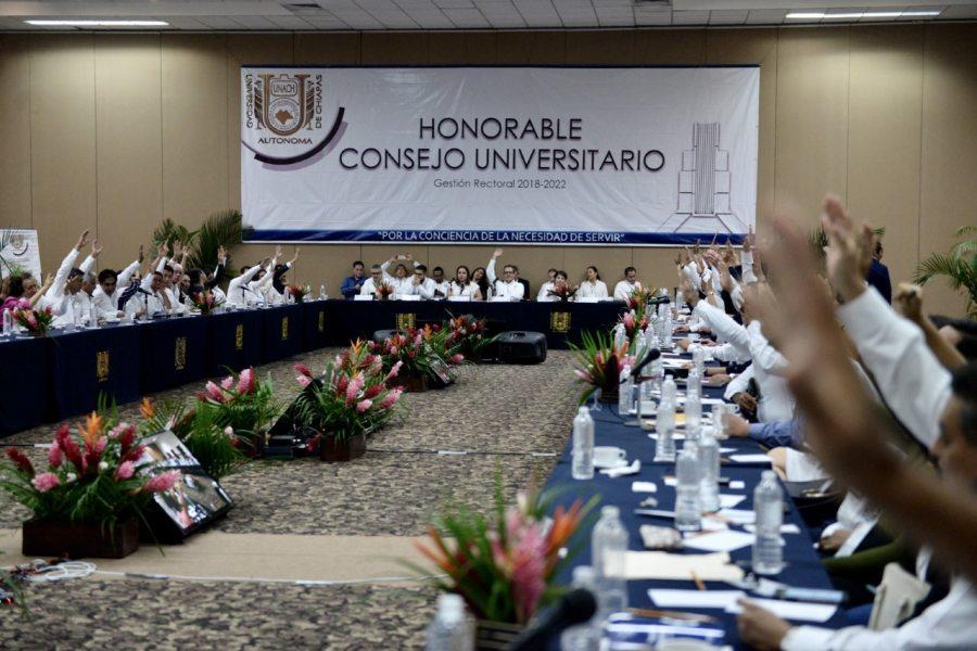 Dan a conocer ante el pleno del Consejo Universitario de la UNACH el anteproyecto de la Reforma Integral a la Legislación de la institución