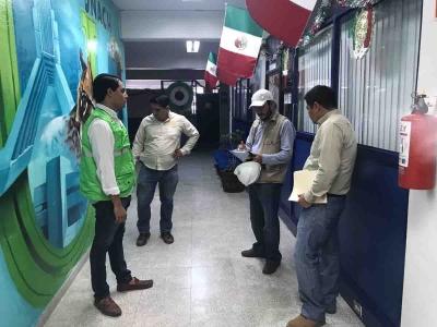 Supervisan directivos de la UNACH instalaciones de la institución en distintos municipios del estado