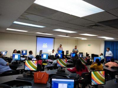 Capacita UNACH a personal académico y administrativo del COBACH sobre competencias digitales.
