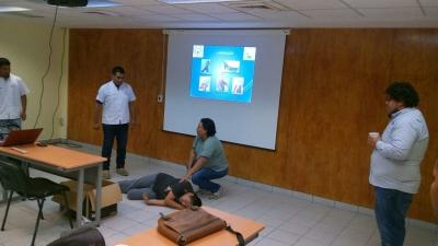 Capacita UNACH a personal del Centro Regional de Alta Especialidad de Chiapas