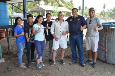 Desarrollan estudiantes de la UNACH el  proyecto: Cultivo de Acuaponia con Lechuga y Mojarra Tilapia