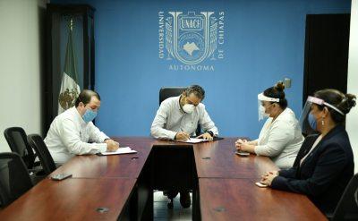 UNACH e IMSS firman convenios para la formación de estudiantes de medicina humana