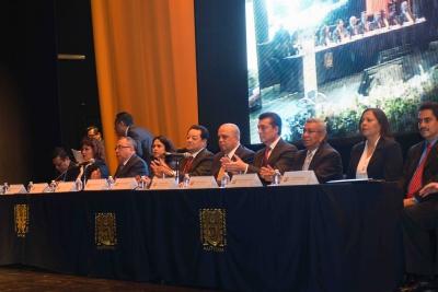 Crece oferta académica de la UNACH en el 2016, afirma el rector Carlos Eugenio Ruiz Hernández en su Segundo Informe de Actividades