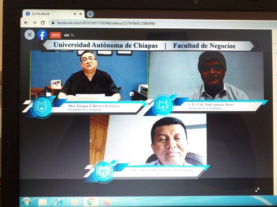 Especialista de la UNACH diserta sobre libros sociales y su importancia en material fiscal