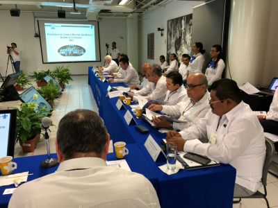 Participa el rector de la UNACH, Carlos Eugenio Ruiz Hernández, en la Sesión del Consejo Regional Sur-Sureste de ANUIES