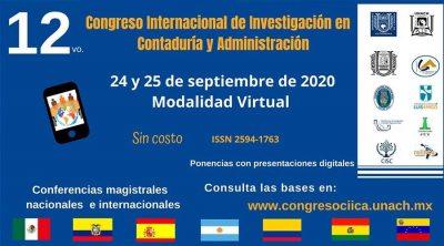 Organiza UNACH 12° Congreso Internacional de Investigación en Contaduría y Administración