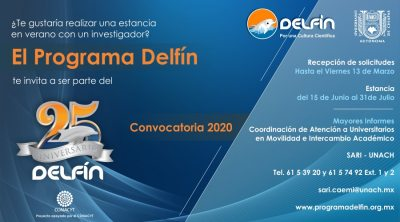 Mantiene UNACH abierta la convocatoria para formar parte del Programa Delfín