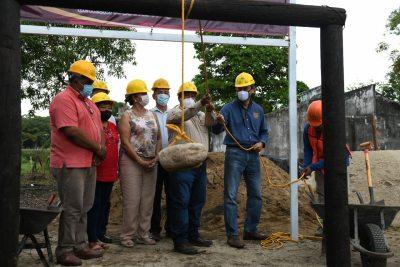 Colocan primera piedra del Centro Vacacional que construirá el SPAUNACH