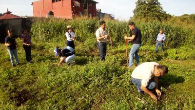 En el Campus IV Personal de la UNACH realizó acciones de reforestación en Tapachula