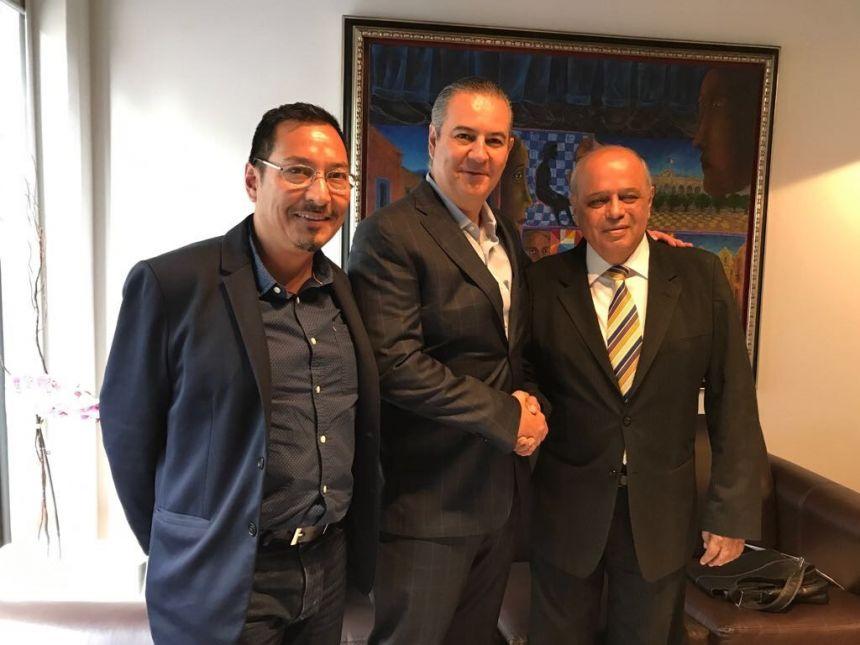 Mantiene UNACH vínculos de cooperación con las autoridades federales encargadas de la Zona Económica Especial de Puerto Chiapas