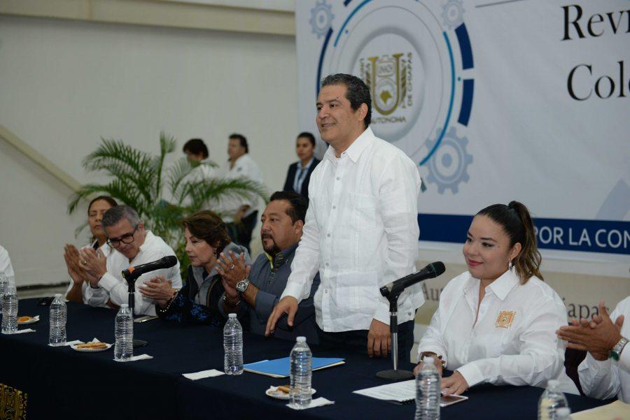 Inicia Administración Central de la UNACH las negociaciones del Contrato Colectivo de Trabajo con el STAUNACH