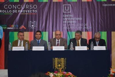 Lanza UNACH Convocatoria del Concurso del Proyecto Centro Universitario de Diseño de la Facultad de Arquitectura