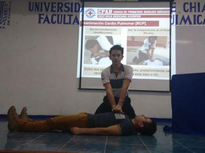 En Tapachula Capacita  UNACH a alumnos del Campus IV en Primeros Auxilios