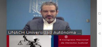 Realiza UNACH Segundo Congreso Nacional de Derecho Judicial
