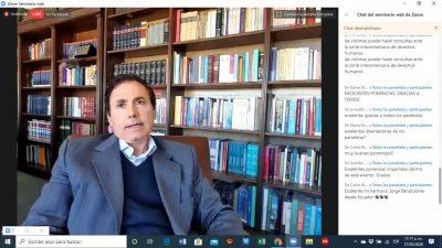 Concluye con éxito el Congreso Internacional de Derecho Convencional organizado por la UNACH vía plataforma digital