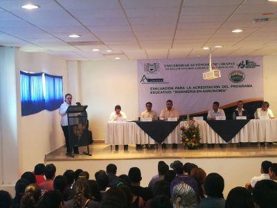 Avanza  UNACH con el proceso de certificación nacional de sus programas educativos