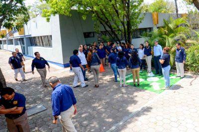 Participan alrededor de 27 mil miembros de la comunidad UNACH en el Mega Simulacro de Protección Civil