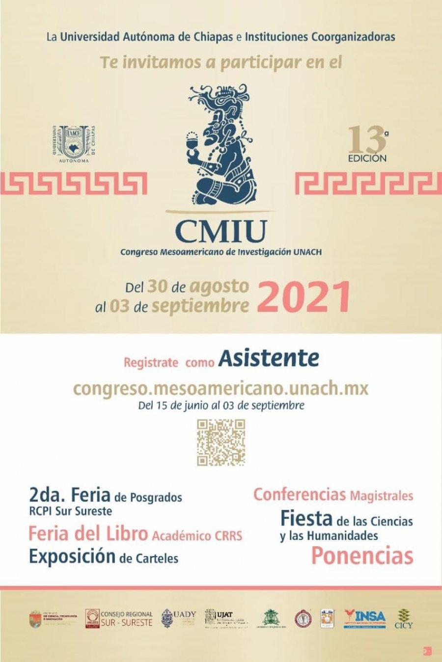 Organiza UNACH Congreso  Mesoamericano de Investigación