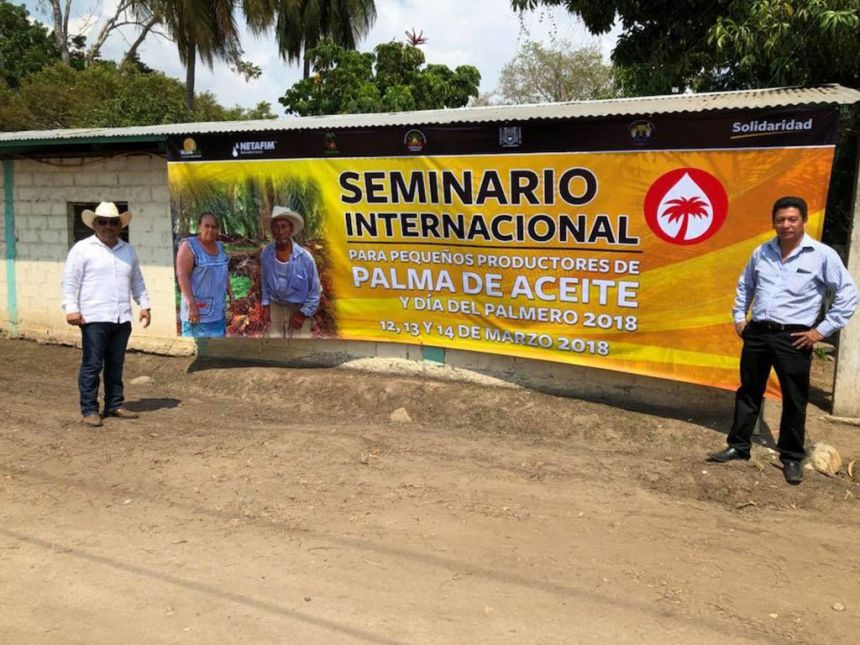 En el Campus IV Expertos participaron en Seminario sobre Palma de Aceite para pequeños productores