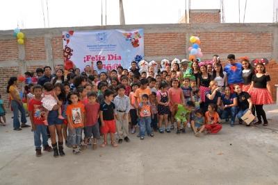 Celebra UNACH a las niñas y niños de Chiapas a través de una serie de actos