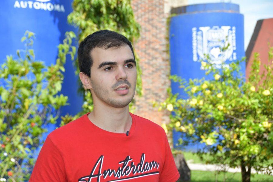En el Campus IV Alumno de Portugal realiza Movilidad Académica en la UNACH