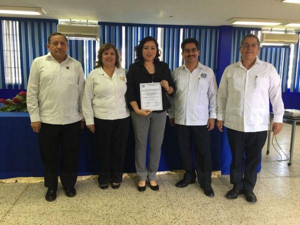 Designan en la UNACH a Urania Wade Aguilar como directora de la Escuela de Contaduría y Administración, Campus VII, Pichucalco