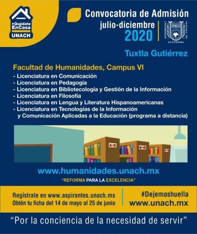 UNACH ofrece  la Licenciatura en Lengua y Literatura Hispanoamericanas