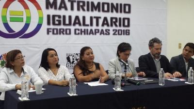 Celebran en la UNACH el Primer Foro de Matrimonio Igualitario en Chiapas