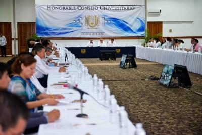 Aprueba Consejo Universitario de la UNACH, lineamientos para el uso adecuado del escudo de la Máxima Casa de Estudios del estado