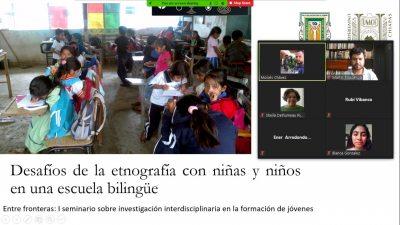 Realizan UNACH y Universidad Autónoma de Baja California seminario virtual dirigido a participantes del Programa Delfín