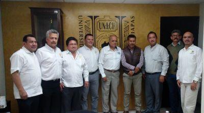 Promueve UNACH vínculos permanentes con el nivel medio superior