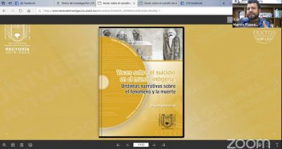 """Presenta UNACH el libro """"Voces sobre el suicidio en el mundo indígena. Distintas narrativas sobre el fenómeno y la muerte"""""""