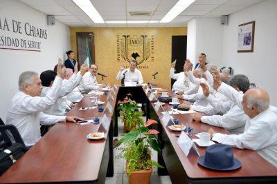 Sumarán ex rectores de la UNACH su experiencia y capacidad al desarrollo de la institución