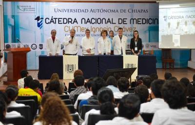 """Participan más de mil 200 estudiantes, investigadores y docentes en la Cátedra CUMEX en Medicina """"Ignacio Chávez"""""""