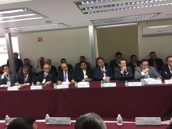 Participa UNACH en reunión del Consejo de Rectores del CUMEX