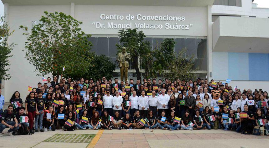 Más de 220 jóvenes son beneficiados con el Programa de Movilidad e Intercambio Académico de la UNACH