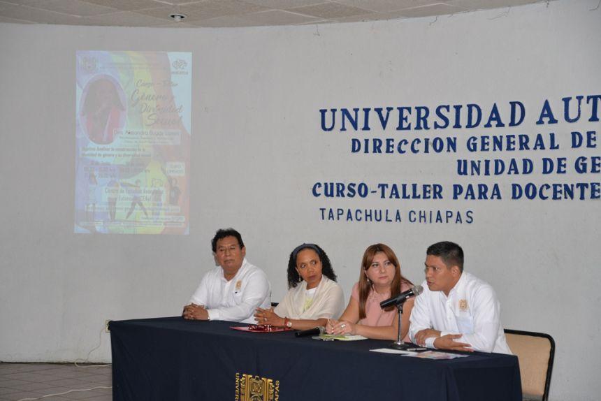 En el Campus IV Realizan en la UNACH el Curso-Taller Género y Diversidad Sexual