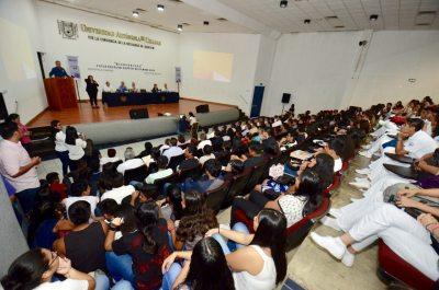 Dan bienvenida a alumnos de nuevo ingreso del Campus IV de la UNACH