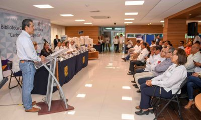 Celebran el 35 aniversario de la inauguración de la Biblioteca Central Universitaria de la UNACH