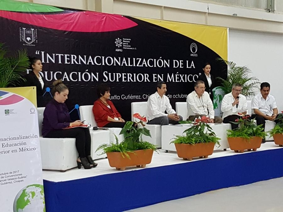 Promueve UNACH las acciones de internacionalización de la educación superior en el sureste del país