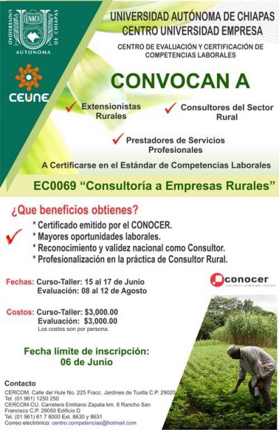 """""""Consultoría a Empresas Rurales"""""""