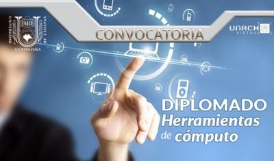 Mantiene UNACH abierta la convocatoria  para el Diplomado Herramientas de Cómputo