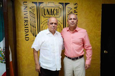 Reafirma UNACH su compromiso con el desarrollo y la obra pública en Chiapas